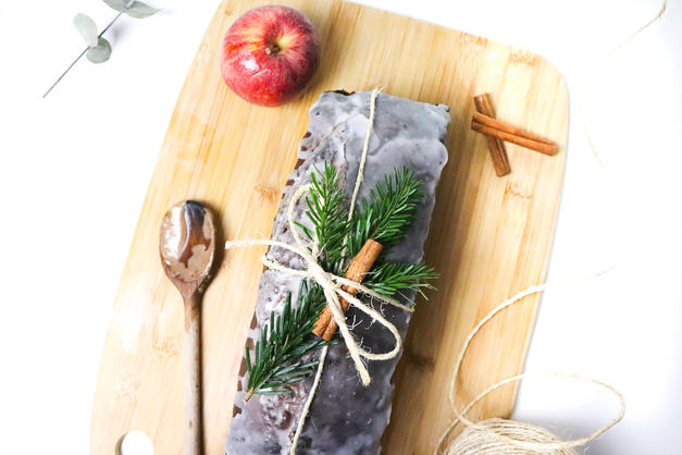 pain pomme cannelle de Noël