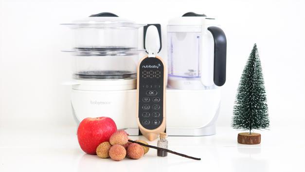 Compote de Noël pomme litchis et vanille dès 6 mois