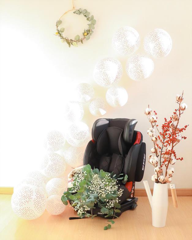 sièges auto équipés de la technologie Isofix