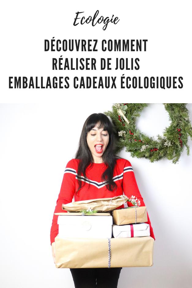 emballages cadeaux écologiques