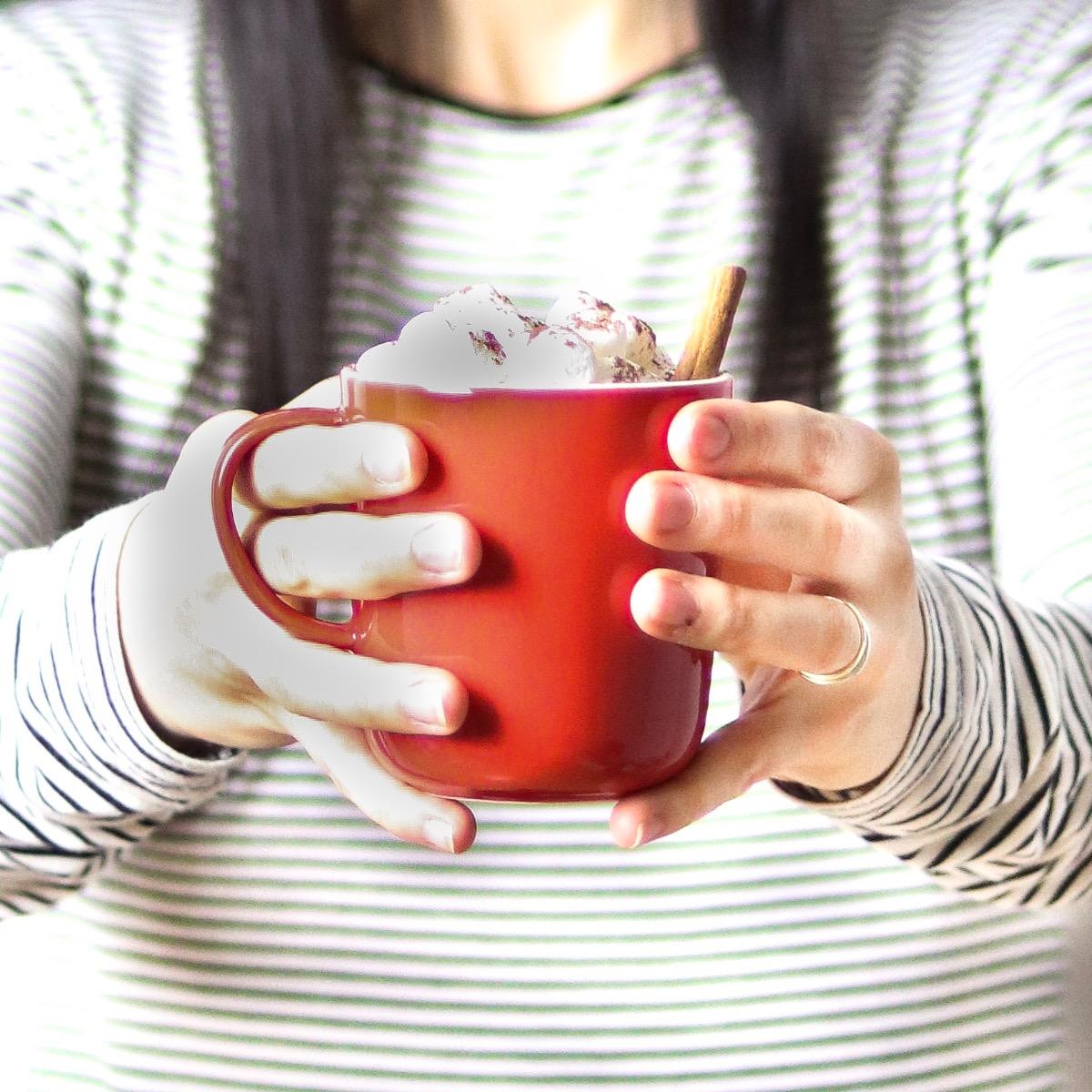 Chocolat chaud de Noel