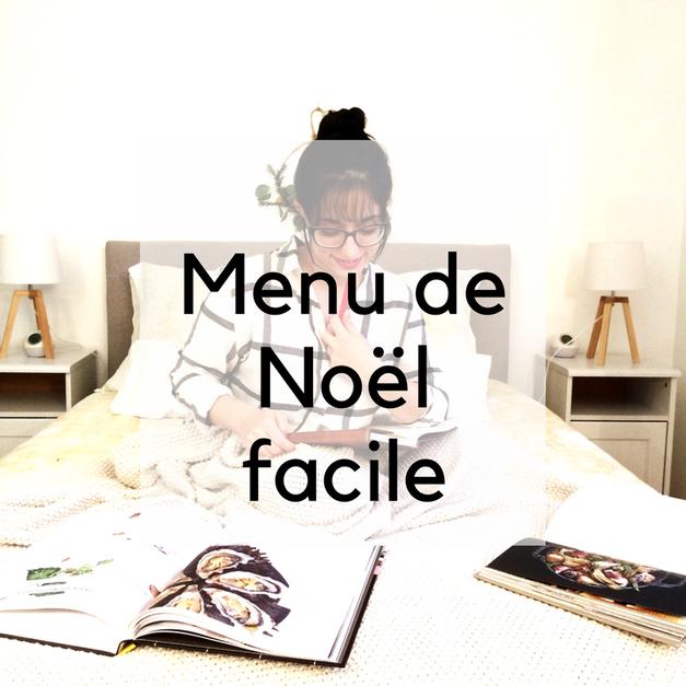 menu de noel facile