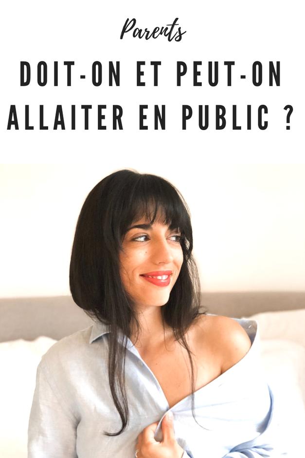 allaiter en public
