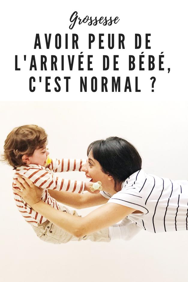 peur de l'arrivée de bébé