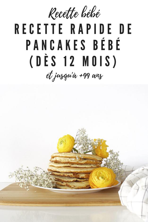 pancakes bébé