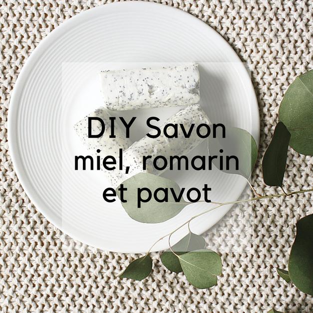 DIY savon