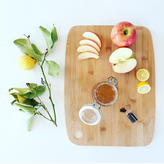 Confiture de pomme vanille maison