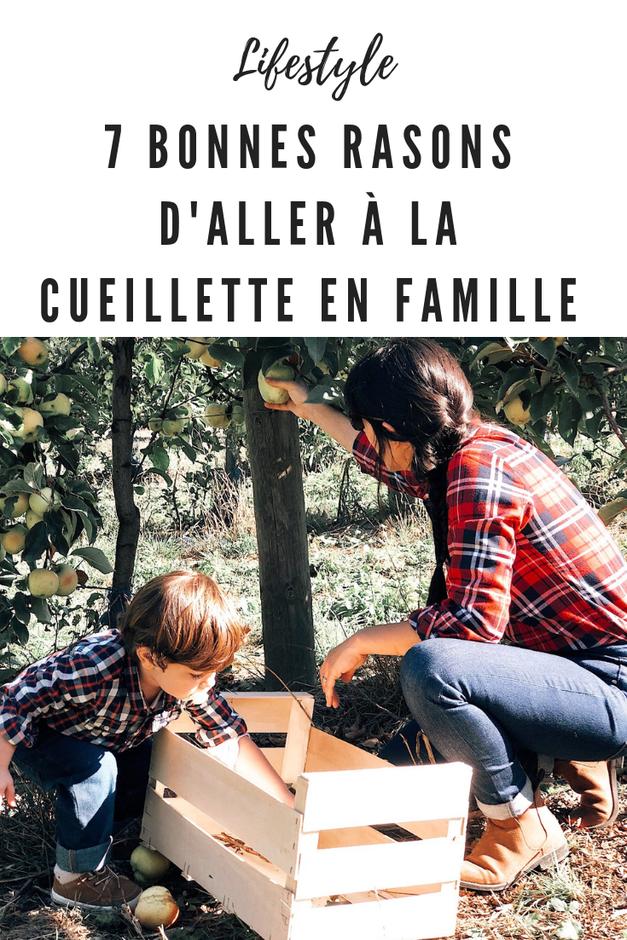 cueillette en famille